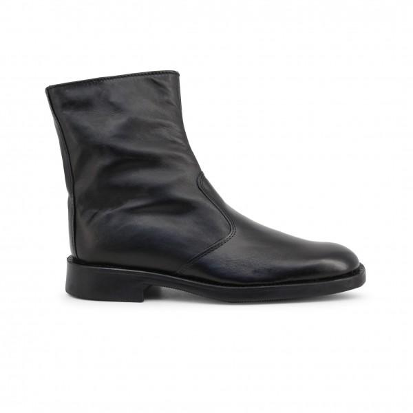 Kotníkové černé pánské boty Duca di Morrone