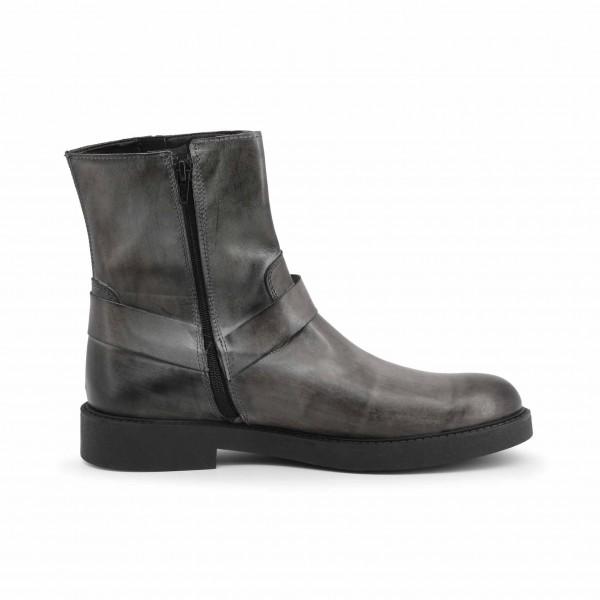 Šedé pánské boty Duca di Morrone kotníkové