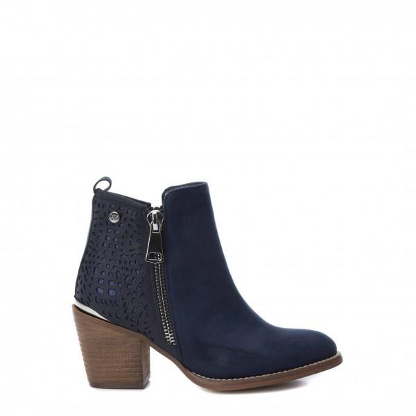 Xti dámské modré kotníkové boty