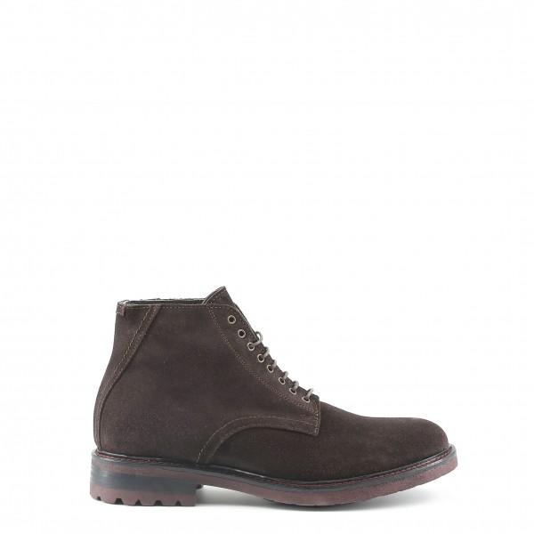 Pánské hnědé kotníkové boty Made in Italia GABRIELE