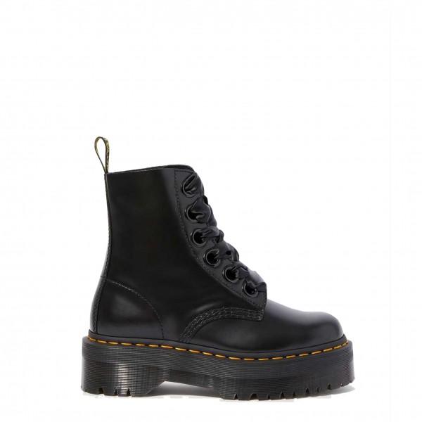 Dr Martens MOLLY_BUTTERO černé dámské kotníkové boty