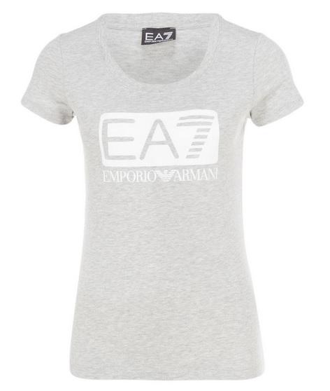 Dámské triko Emporio Armani, grey