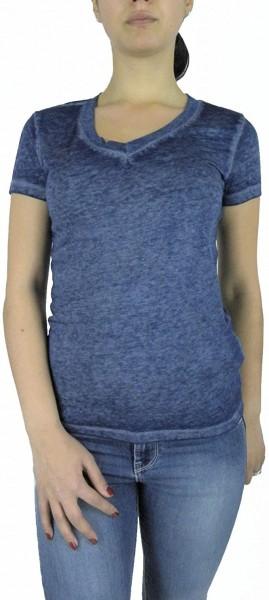 Dámské triko Emporio Armani, žíhané