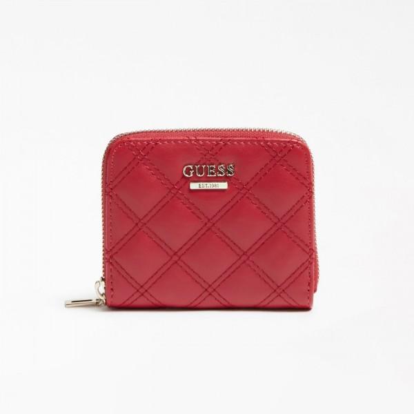 Červená GUESS peněženka