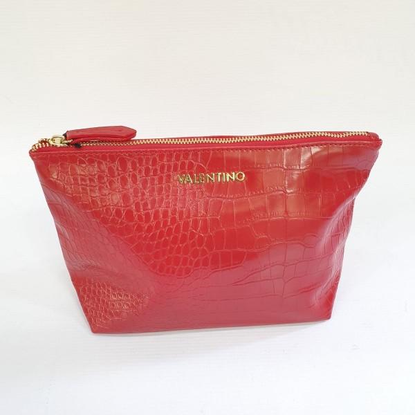 Kosmetická taška Valentino, červená