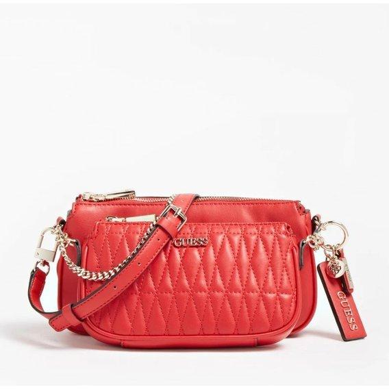 Dámská stylová kabelka GUESS, červená