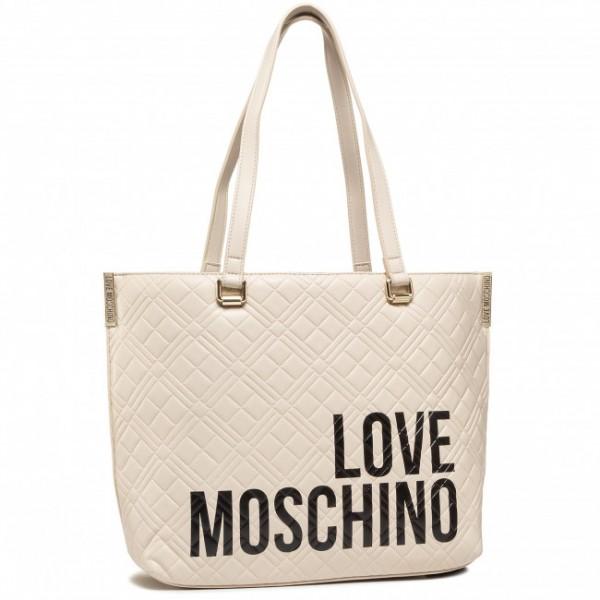 Dámská kabelka LOVE MOSCHINO, béžová