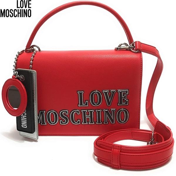 Dámská kabelka LOVE MOSCHINO, červená